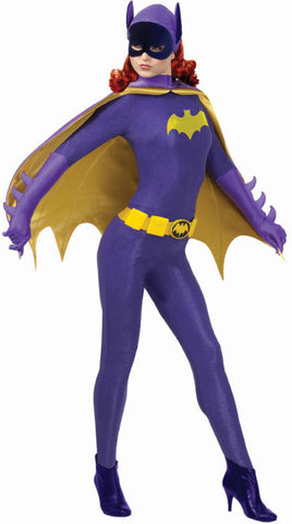 BATGIRL 1960s COLLECTABLE COSTUME, ADULT - SIZE S