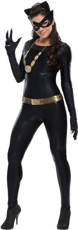 CATWOMAN COLLECTOR'S EDITION COSTUME, ADULT - SIZE L