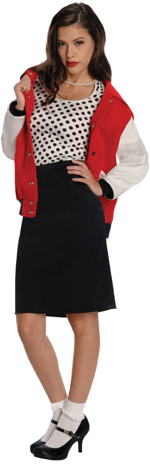 50'S REBEL CHICK COSTUME, ADULT - SIZE S