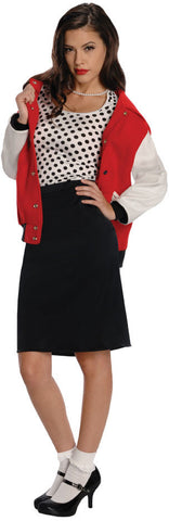 50'S REBEL CHICK COSTUME, ADULT - SIZE M