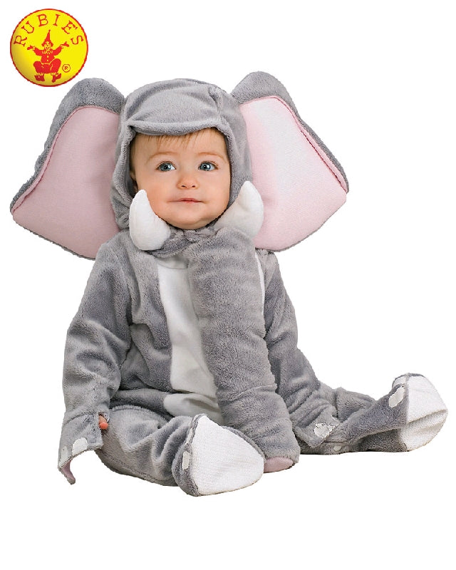 ELEPHANT FURRY COSTUME - SIZE TODDLER