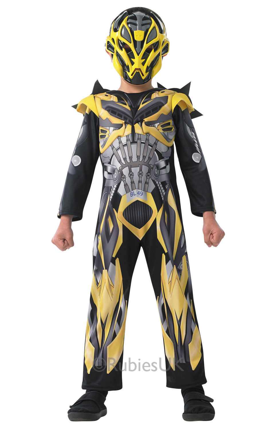 BUMBLEBEE TRANSFORMERS 4 DELUXE COSTUME - SIZE L