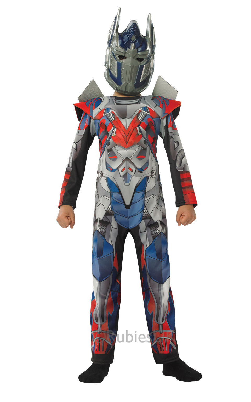 OPTIMUS PRIME TRANSFORMERS 4 DELUXE COSTUME, CHILD - SIZE S