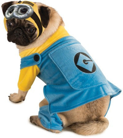 MINION PET COSTUME - SIZE L