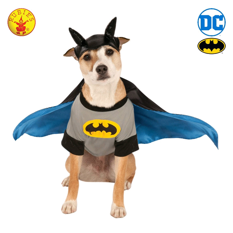 BATMAN DELUXE PET COSTUME - SIZE S