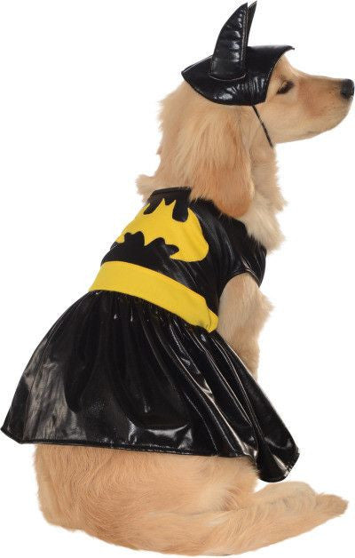 BATGIRL PET COSTUME - SIZE XL