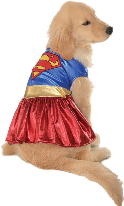 SUPERGIRL PET COSTUME - SIZE XL