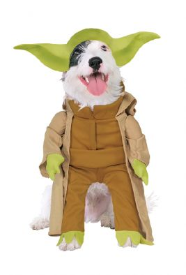 YODA DELUXE PET COSTUME - SIZE S