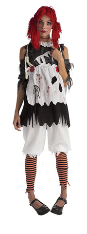 RAG DOLL DELUXE COSTUME, ADULT - SIZE XS