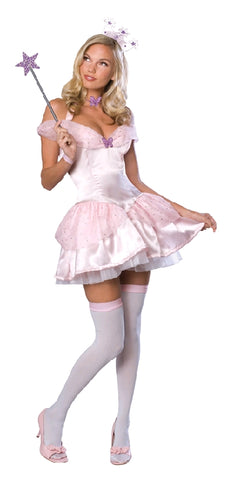 GLINDA THE GOOD WITCH SEXY COSTUME, ADULT - SIZE S