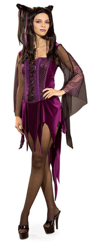 HALLOWEEN ENCHANTRESS COSTUME, ADULT - SIZE STD