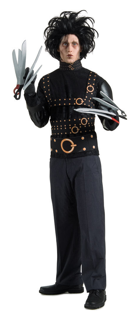 EDWARD SCISSORHANDS COSTUME, ADULT - SIZE STD