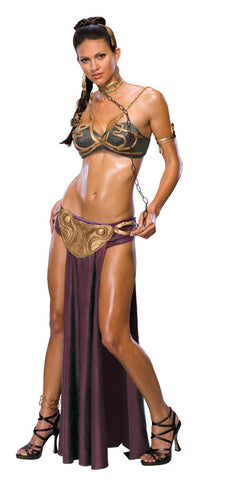 PRINCESS LEIA SECRET WISHES SLAVE COSTUME, ADULT - SIZE S