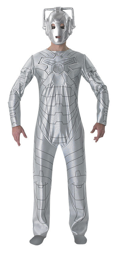 CYBERMAN DOCTOR WHO COSTUME, ADULT - SIZE XL