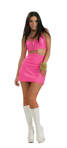 MOLLY GO BRIGHTLY 60S GO-GO COSTUME, ADULT - SIZE S