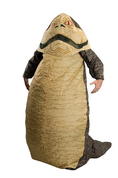 JABBA THE HUT INFLATABLE COSTUME, ADULT - SIZE STD