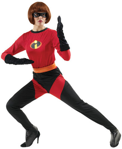 MRS INCREDIBLE JUMPSUIT COSTUME, ADULT - SIZE L