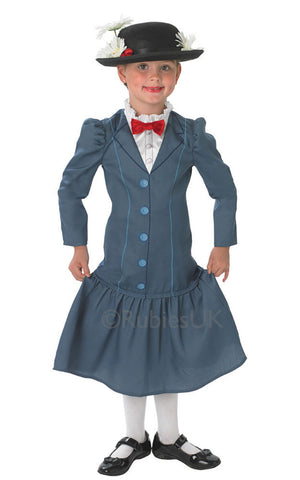 MARY POPPINS DELUXE COSTUME, CHILD - SIZE S (3-4 YEARS OLD)