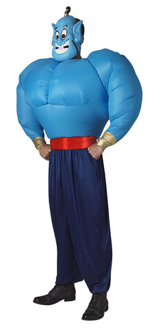 GENIE ADULT INFLATABLE COSTUME - SIZE STD