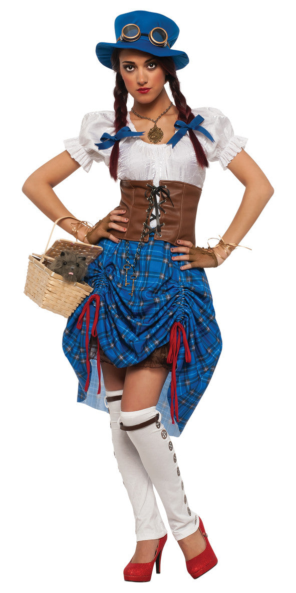 DOROTHY STEAMPUNK COSTUME - SIZE S
