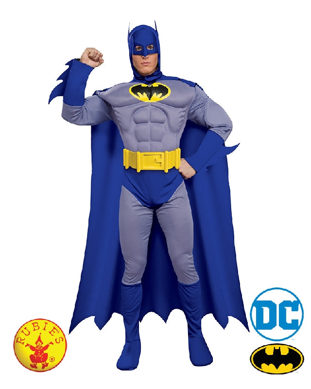 BATMAN 60S COSTUME, ADULT - SIZE S