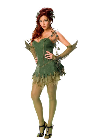 POISON IVY SSEXY COSTUME, ADULT - SIZE M