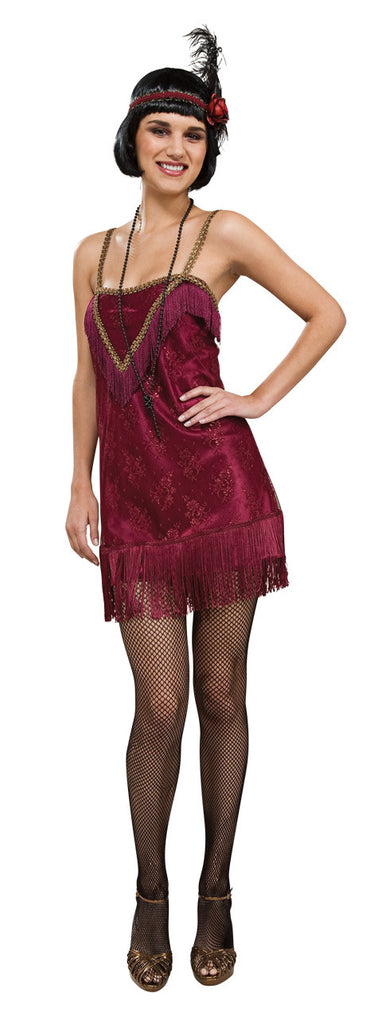 JAZZ DIVA 20S FLAPPER COSTUME, ADULT - SIZE M