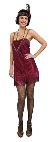 JAZZ DIVA 20S FLAPPER COSTUME, ADULT - SIZE S
