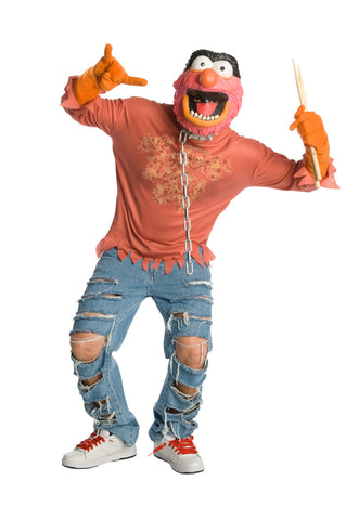 ANIMAL MUPPETS COSTUME, ADULT - SIZE XL