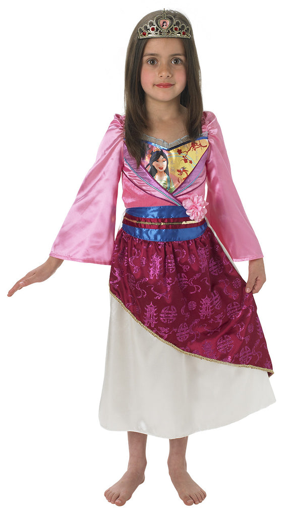 MULAN SHIMMER DELUXE COSTUME - SIZE M