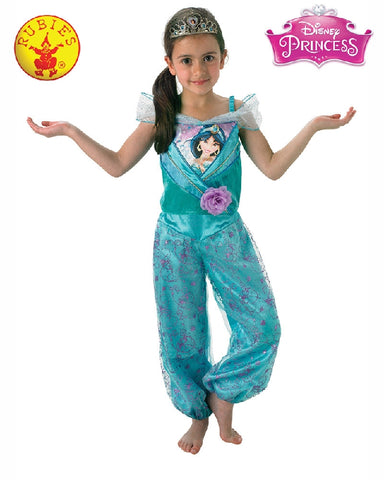 JASMINE DISNEY SHIMMER COSTUME, CHILD - SIZE 6-8
