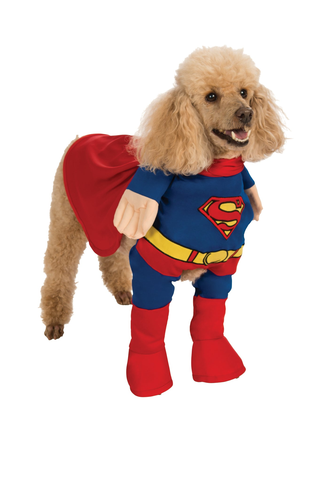 SUPERMAN PET COSTUME - SIZE L