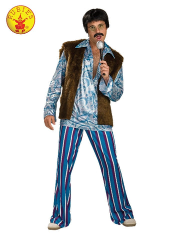 ROCKSTAR 70'S MENS COSTUME, ADULT - SIZE STD