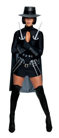 V FOR VENDETTA SEXY COSTUME, ADULT - SIZE XS