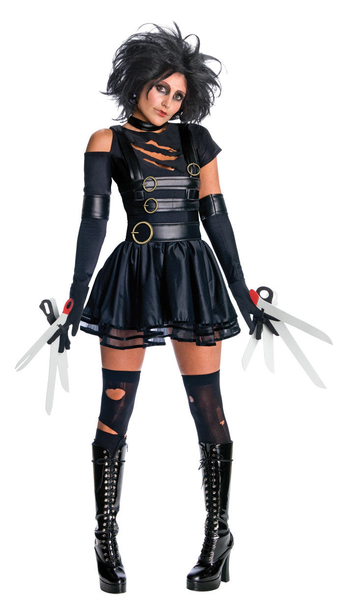 EDWARD SCISSORHANDS SECRET WISHES COSTUME- SIZE M