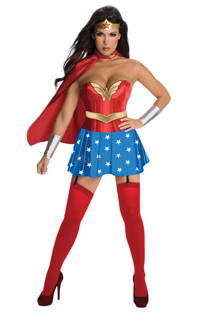 WONDER WOMAN SECRET WISHES COSTUME, ADULT - SIZE XS