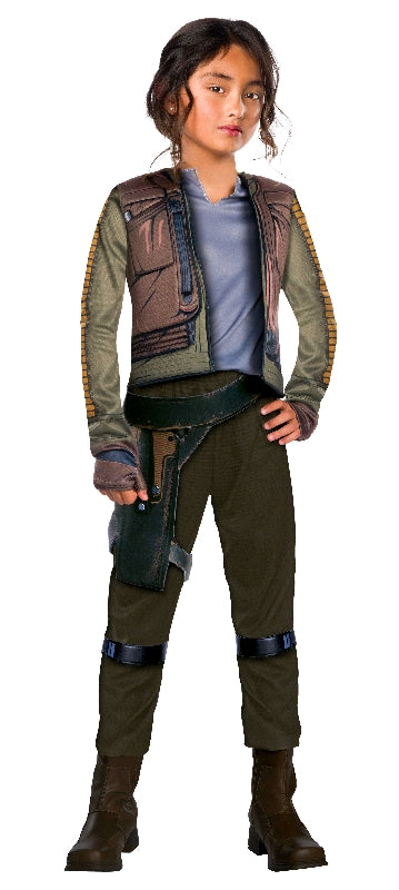 JYN ERSO ROGUE ONE DELUXE, CHILD - SIZE 6-8