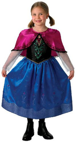 ANNA DELUXE FROZEN COSTUME, CHILD - SIZE 6-8