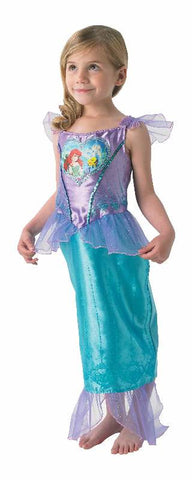 ARIEL LOVEHEART DISNEY COSTUME, CHILD - SIZE 6-8