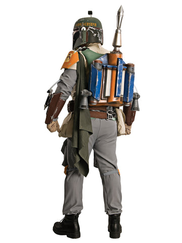 BOBA FETT COLLECTABLE COSTUME, ADULT - SIZE STD