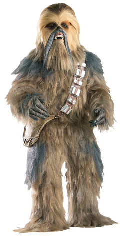 CHEWBACCA COSTUME COLLECTOR'S EDITION, ADULT - SIZE STD