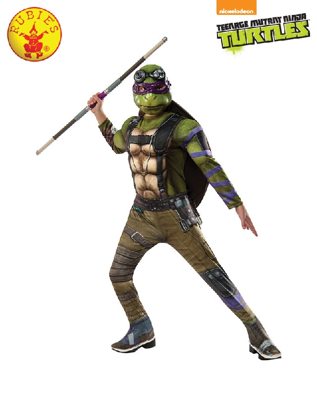 TMNT 2 DONATELLO COSTUME, CHILD - SIZE 3-5