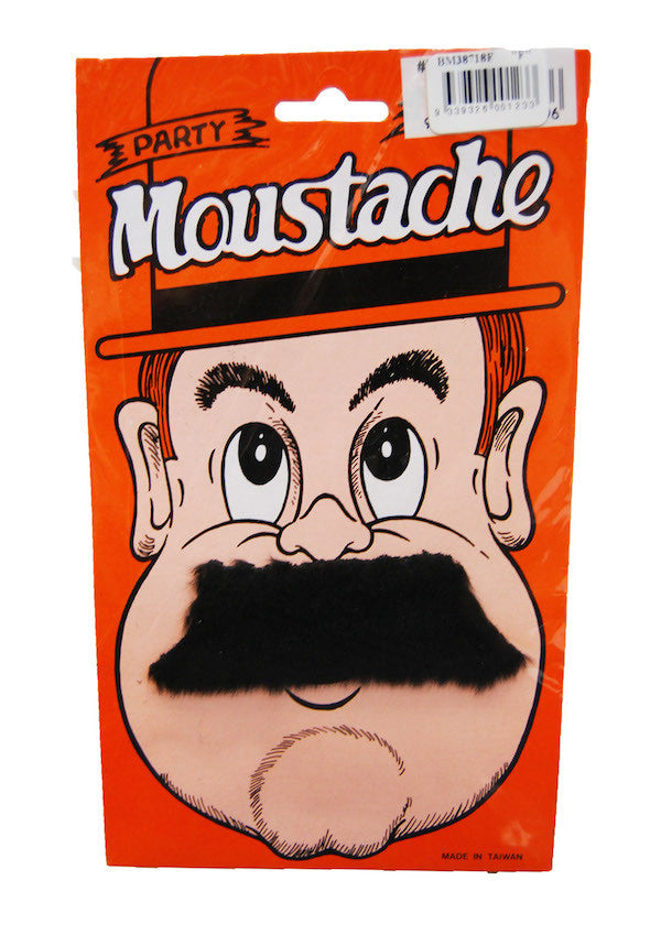 Moustache Short Straight - Black