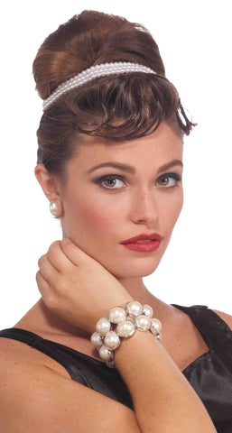 Vintage Hollywood Pearl Bracelet