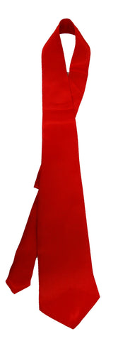 Gangster Tie - Red Satin