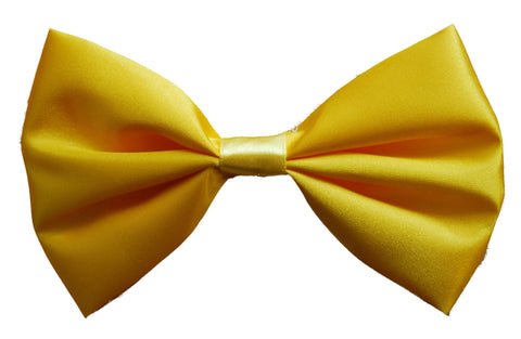 Satin Bow Tie - Yellow