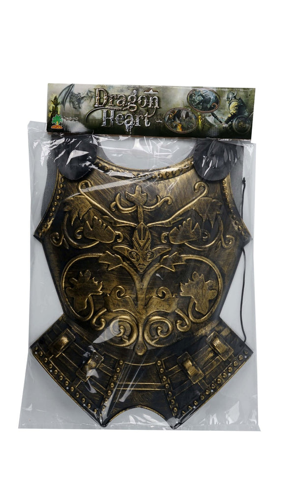 ROMAN CHEST ARMOUR WITH CAPE, ADULT SIZE