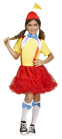 TWEEDLE DEE DUM COSTUME, TWEEN - SIZE XL