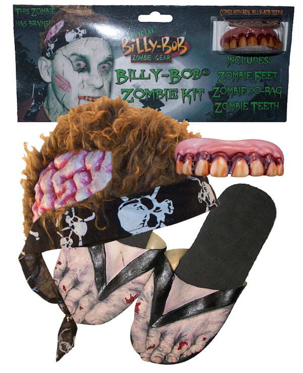 Billy Bob Zombie Kit - Adult