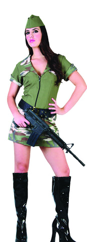 Army Girl - Adult - Medium